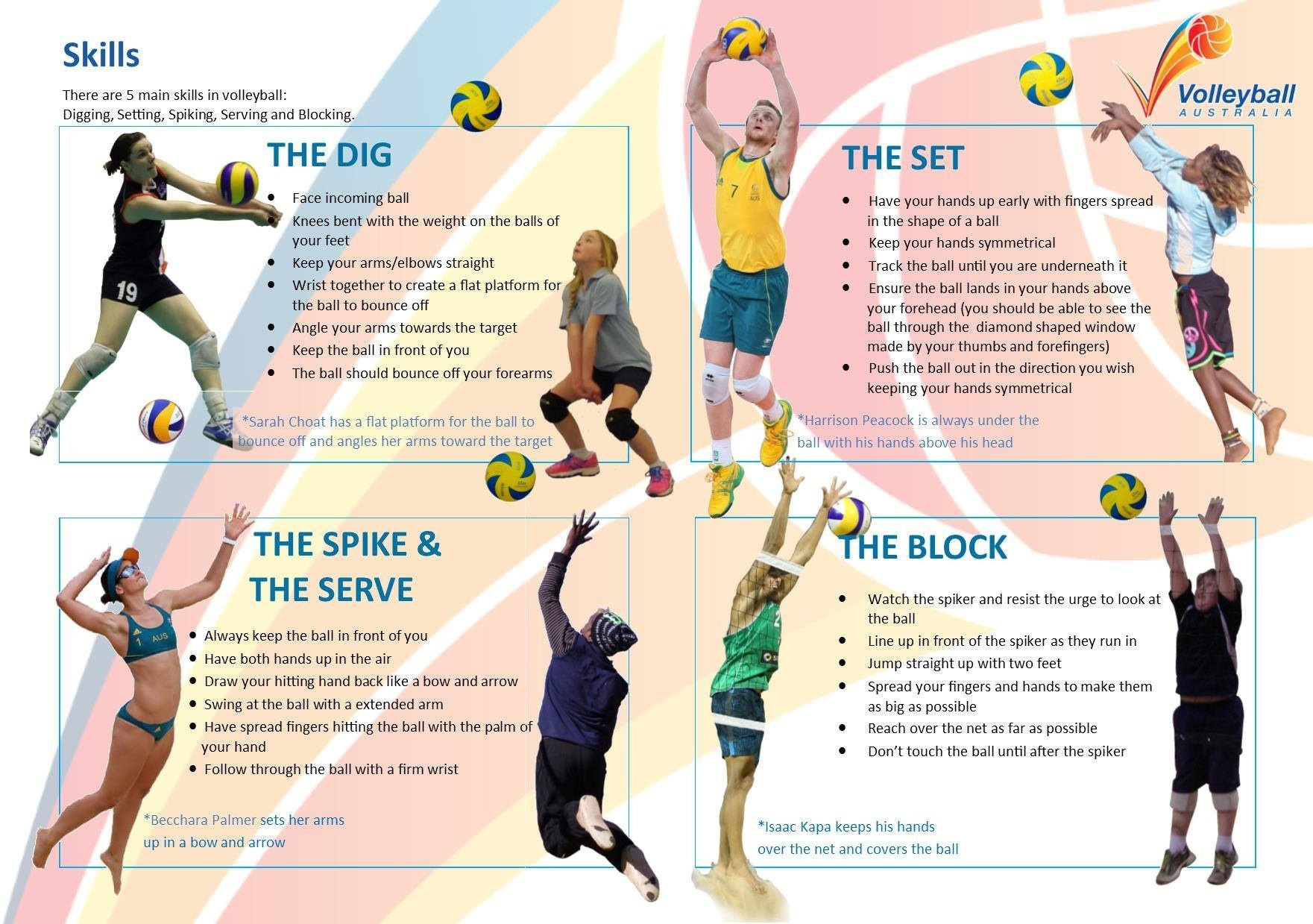 volleyball tips